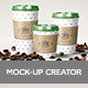 Coffee Mockup Scene Creator - GraphicRiver Item for Sale