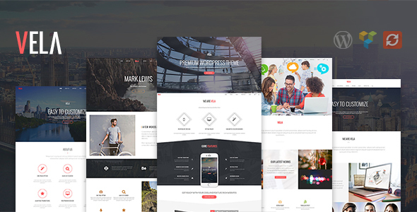 Vela - Responsive Business Multi-Purpose Theme - Business Corporate