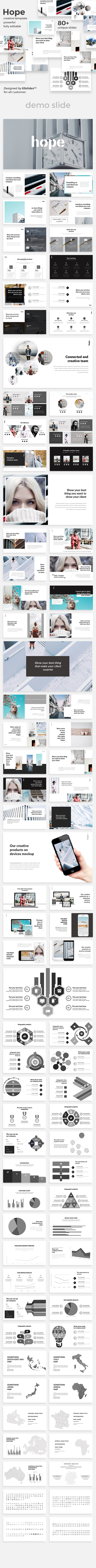Hope Creative Google Slide Template - Google Slides Presentation Templates