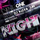 Abstract Night Club Party/Concert Flyer/Poster - GraphicRiver Item for Sale