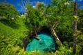 To Sua ocean trench - famous swimming hole, Upolu, Samoa, South