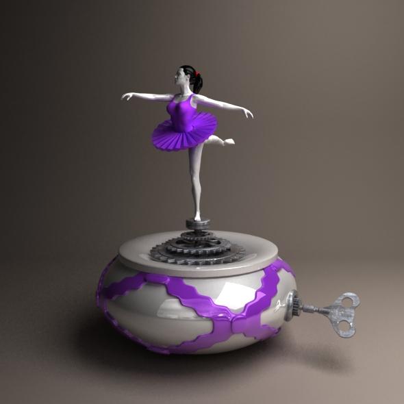 3DOcean ballerina 20855734