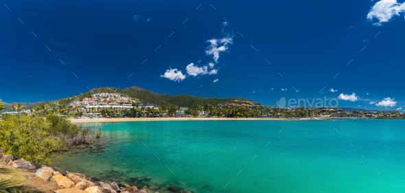 Airlie Beach, Whitsundays, Queensland Australia - Stock Photo - Images