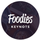 Foodies - Culinary Theme Keynote Template