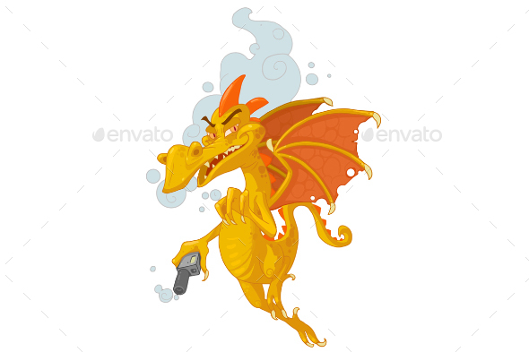 Vaper Dragon Character - Monsters Characters