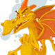Vaper Dragon Character - GraphicRiver Item for Sale