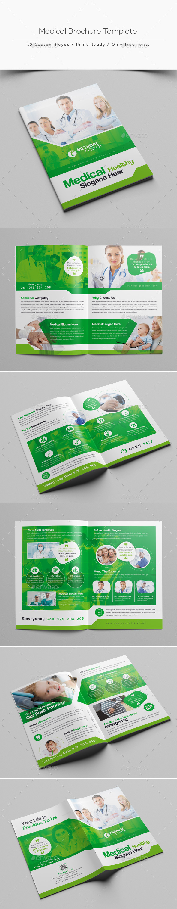 Medical Brochure Template - Corporate Brochures