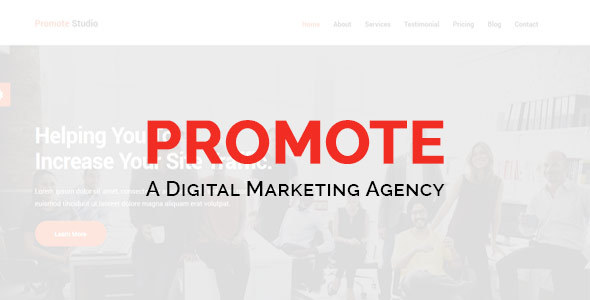 Promote-Digital Marketing Agency - Technology Site Templates