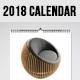 2018 Wall Calendar - GraphicRiver Item for Sale