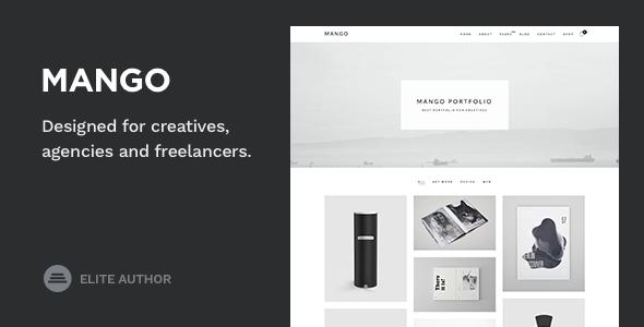 Mango - Portfolio for Creatives