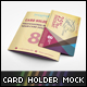 Card Holder Mockup V1 - GraphicRiver Item for Sale