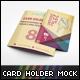 Card Holder Mockup V1
