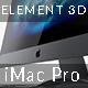 iMac Pro - Element 3D V2.2 - 3DOcean Item for Sale