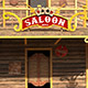 Western Saloon Low Poly
