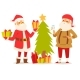 Christmas Santa Claus Vector Illustration. - GraphicRiver Item for Sale
