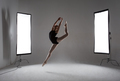 Backstage shooting a graceful ballerina in the studio - PhotoDune Item for Sale