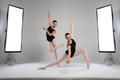 Backstage shooting two beautiful ballerinas in the studio - PhotoDune Item for Sale
