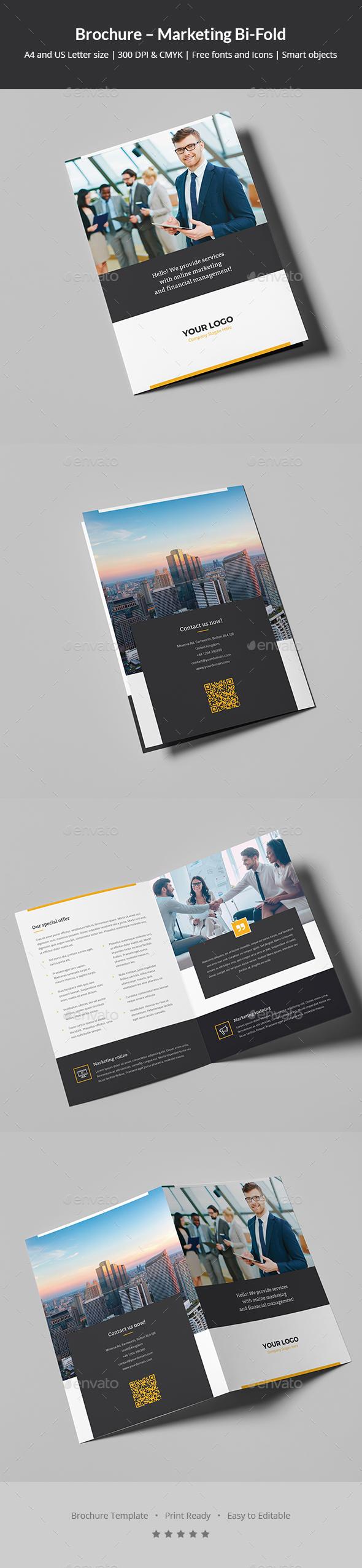 Brochure – Marketing Bi-Fold - Corporate Brochures