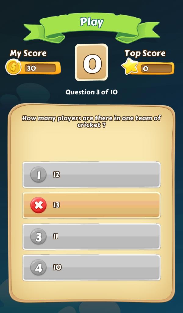 Quiz Trivia Unity