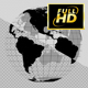 Earth Globe 3D (Black + Grid) - VideoHive Item for Sale