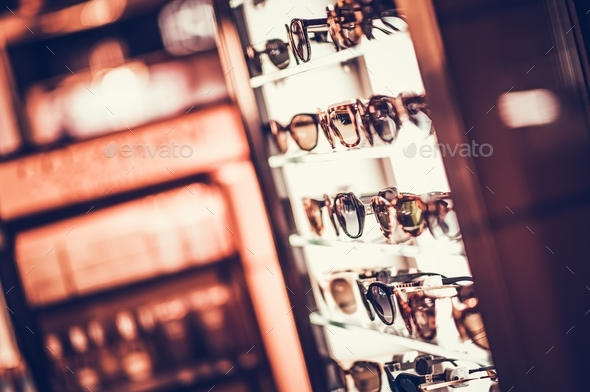 Selection of Sunglasses - Stock Photo - Images