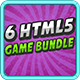 6 Html5 Game Bundle