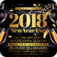 2018 New Year Eve Flyer