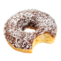 Chocolate donut isolated - PhotoDune Item for Sale