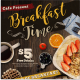 Breakfast Time Flyer - GraphicRiver Item for Sale