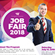 Job Fair Poster & Roll-Up Template Bundle