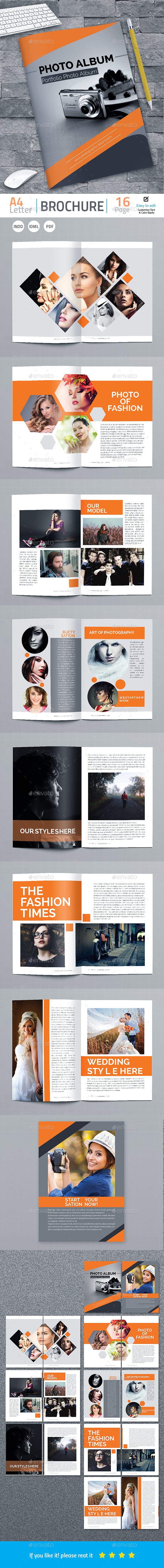 GraphicRiver Photography Portfolio Album 20858813