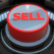 3D Red Sell Button Pressed and Glowing - VideoHive Item for Sale