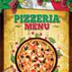 Pizzeria Menu 2 (A4)
