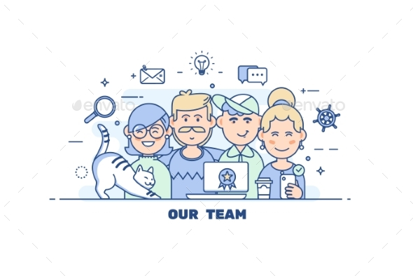 GraphicRiver Business People Teamwork 20859007