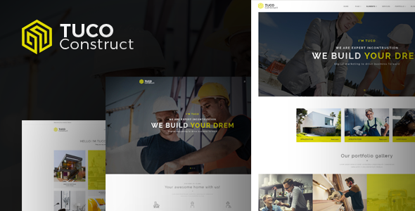 Image of Tuco - Construction & Building HTML5 Template