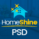 HomeShine - Multi Purpose PSD Template - ThemeForest Item for Sale