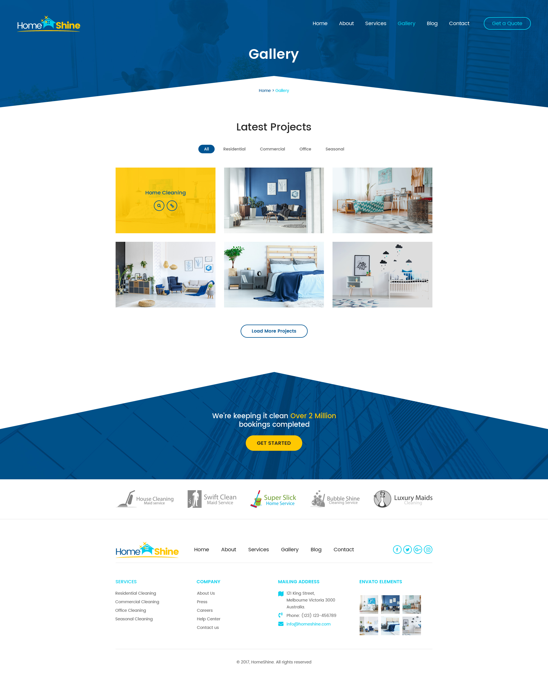 HomeShine - Multi Purpose PSD Template by designingmedia   ThemeForest