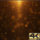 Gold Particle Background 4K - VideoHive Item for Sale