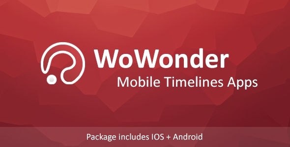 Mobile Native Bundle Timeline Applications - For WoWonder Social PHP Script - CodeCanyon Item for Sale