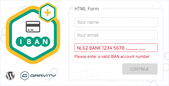 CodeCanyon Gravity Forms IBAN Validation 20859733