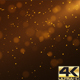 Gold Flying Particles Background 4K - VideoHive Item for Sale