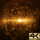 Gold Sphere Particle Background 4K - VideoHive Item for Sale