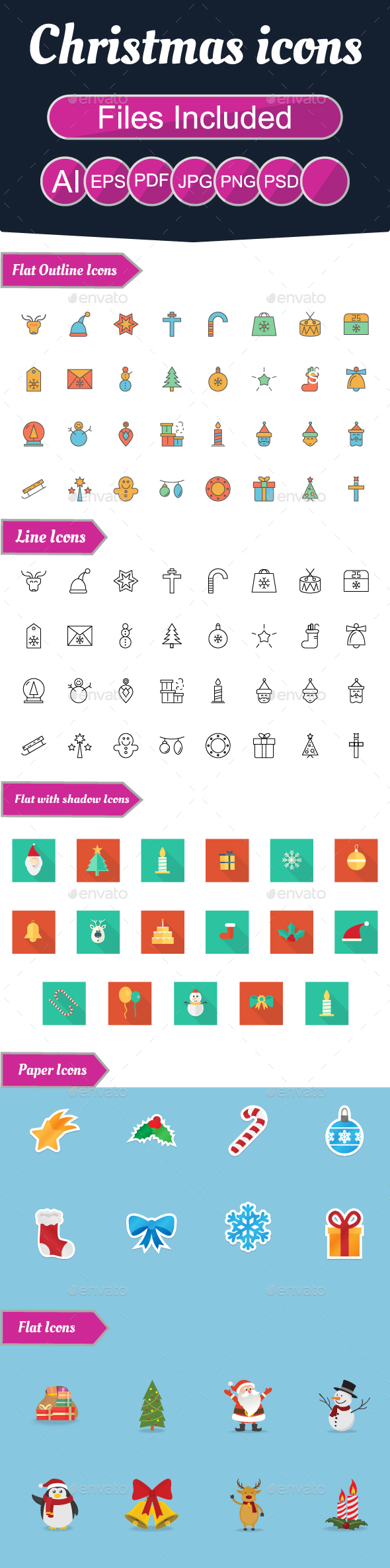 Christmas Icons - Web Icons