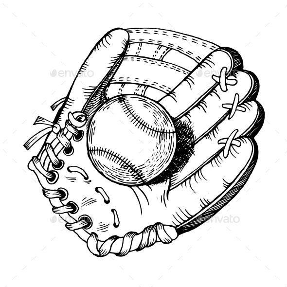 GraphicRiver Skates Engraving Vector Illustration 20859887