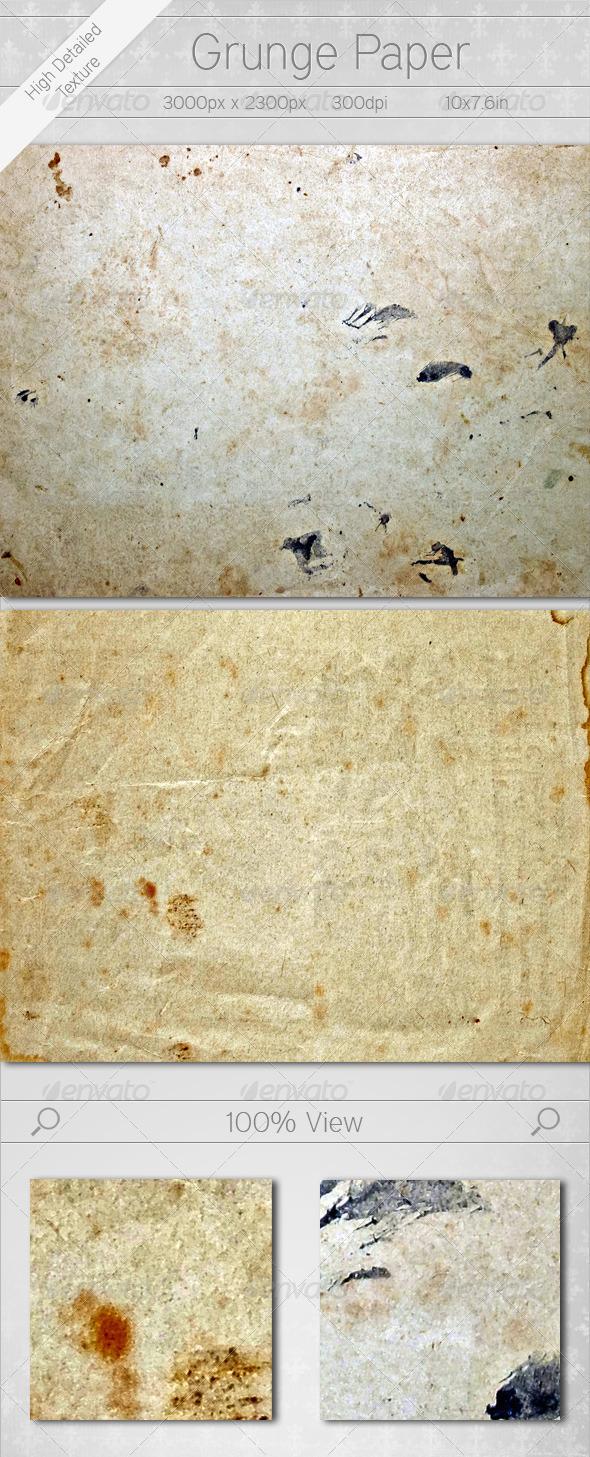 Grunge Paper - Paper Textures