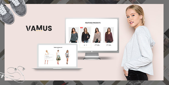 Vamus - Mutilpurpose eCommerce HTML Template - Shopping Retail