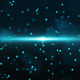 Blue Sci-Fi Particle  - VideoHive Item for Sale