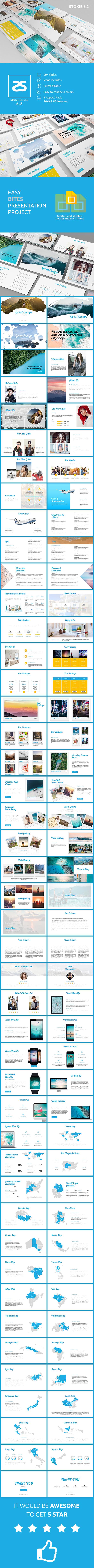 GraphicRiver Travel Agency Google Slide Template 6.2 20860238