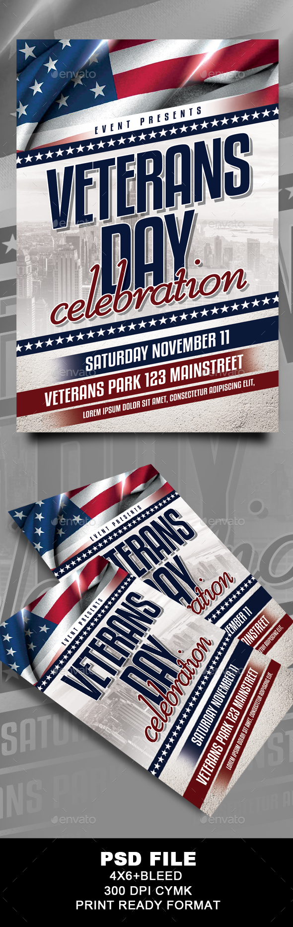 Veterans Day Flyer - Events Flyers
