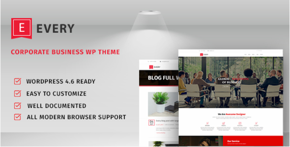 Every-Corporate Business Theme - Business Corporate